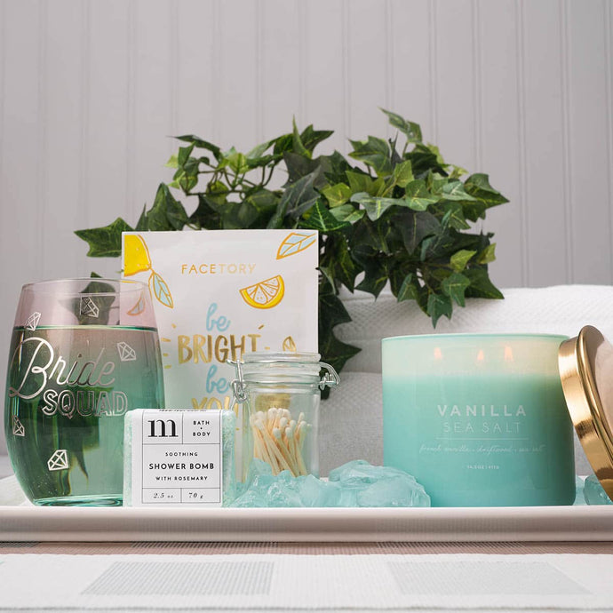 Be My Bridesmaid Spa Gift Set - GiftBasket.com - Gift Set