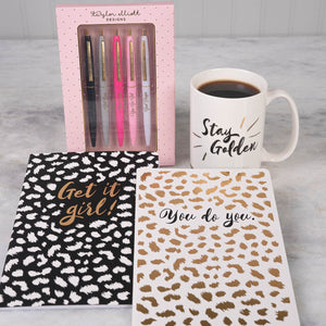 Be a Boss Babe Women's Desk Gift Set