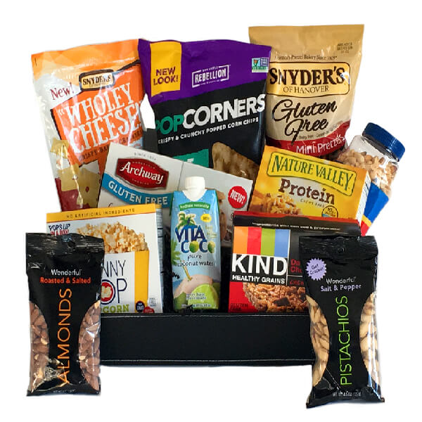 College Care Package- Gluten Free Munchies - GiftBasket.com - Care Package