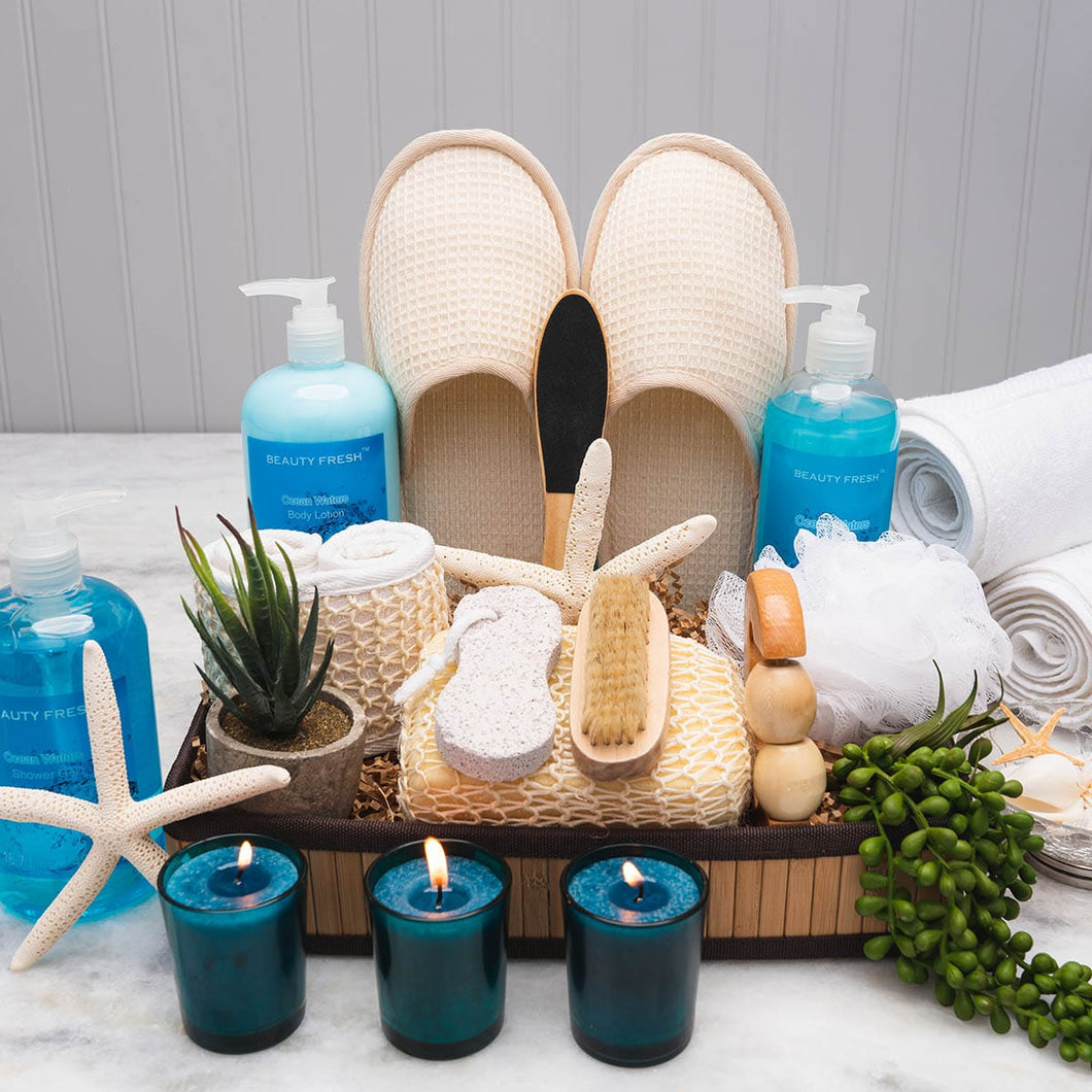 Calm Seas Spa Gift Set - GiftBasket.com - Gift Set