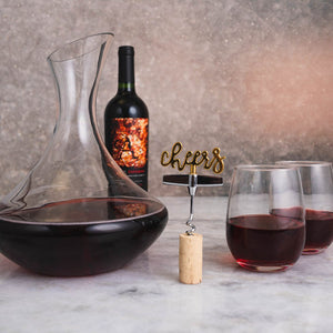 Cheers To Wine Gift Set