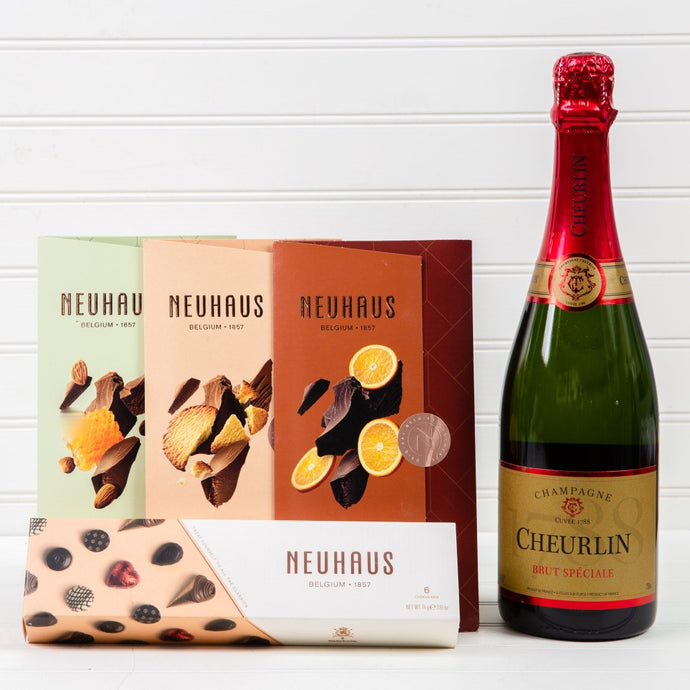Cheurlin Chocolate Dreams Champagne Set