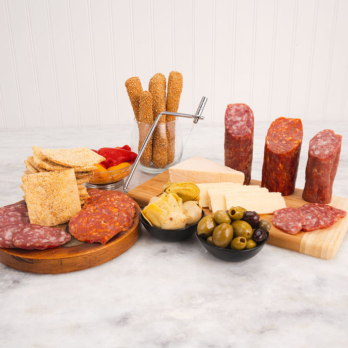 The Deluxe Italian Antipasto Gift Box