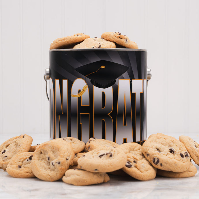 Graduation Cookie Tin- 1 Gallon