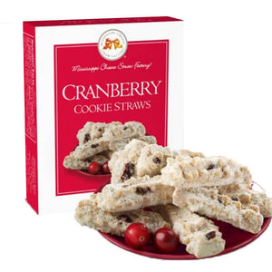 Cranberry Cookie Straws - GiftBasket.com