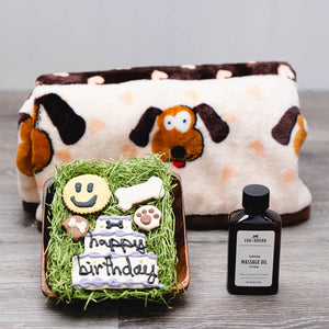 Dog-gone Good Birthday Dog Gift Basket