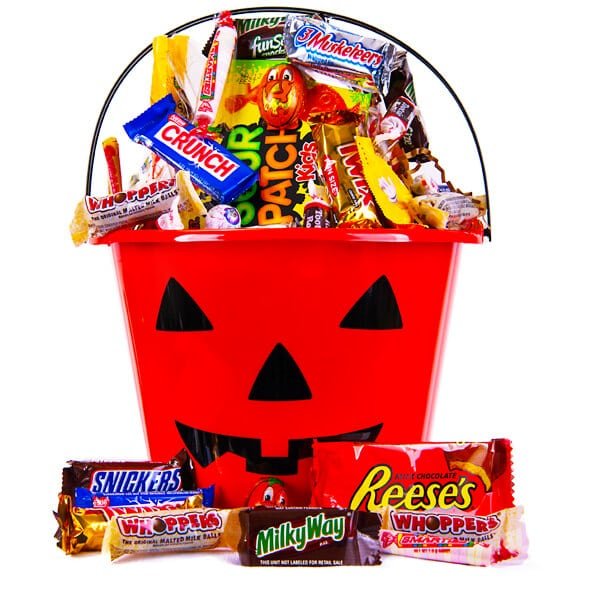 Halloween Fun Candy & Chocolate Gift Basket