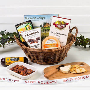 A Day at The Vineyard Holiday Gift Basket - GiftBasket.com - Gift Basket