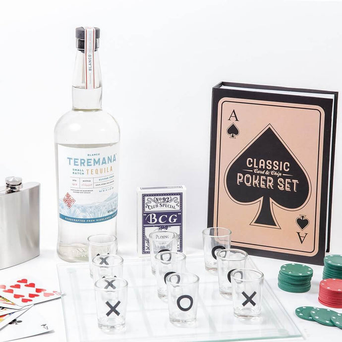 Adult Game Night Teremana Tequila Set - GiftBasket.com - Gift Set