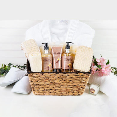 All About Me Luxury Spa Basket - GiftBasket.com - Gift Basket