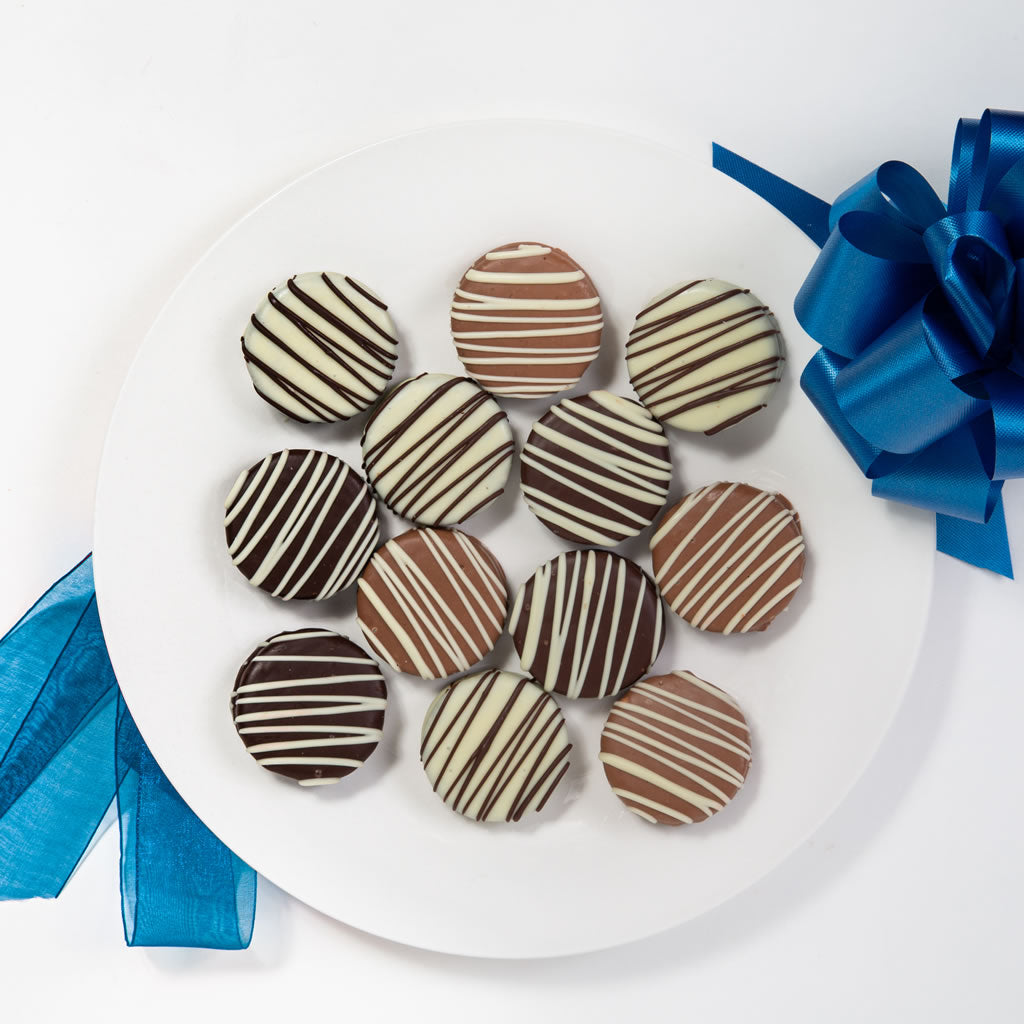 Classic Belgian Chocolate Covered Oreo Cookies