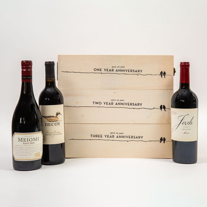 To The Years To Come, Happy Anniversary Wine Gift Set