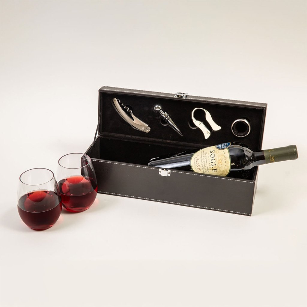 Wine Gift Basket - For the Love of Wine Red Wine Gift Set by GiftBasket.com