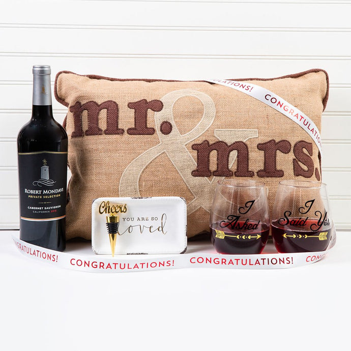 Congrats to the Mr. & Mrs. Wine Gift Set