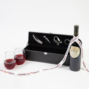 For the Love of Wine Red Wine Happy Birthday Gift Set - GiftBasket.com - Gift Set