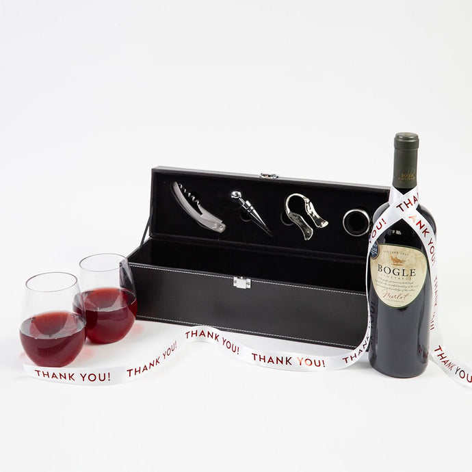 For the Love of Wine Thank You Gift Set