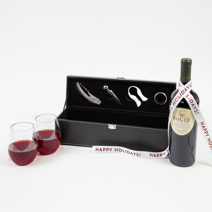 For the Love of Wine Holiday Gift Set