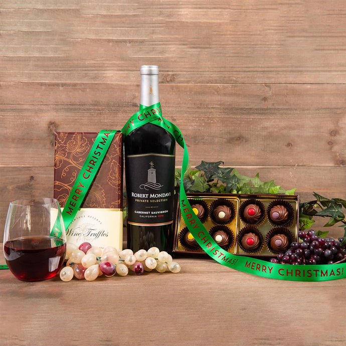 Wine Truffles Merry Christmas Pairing