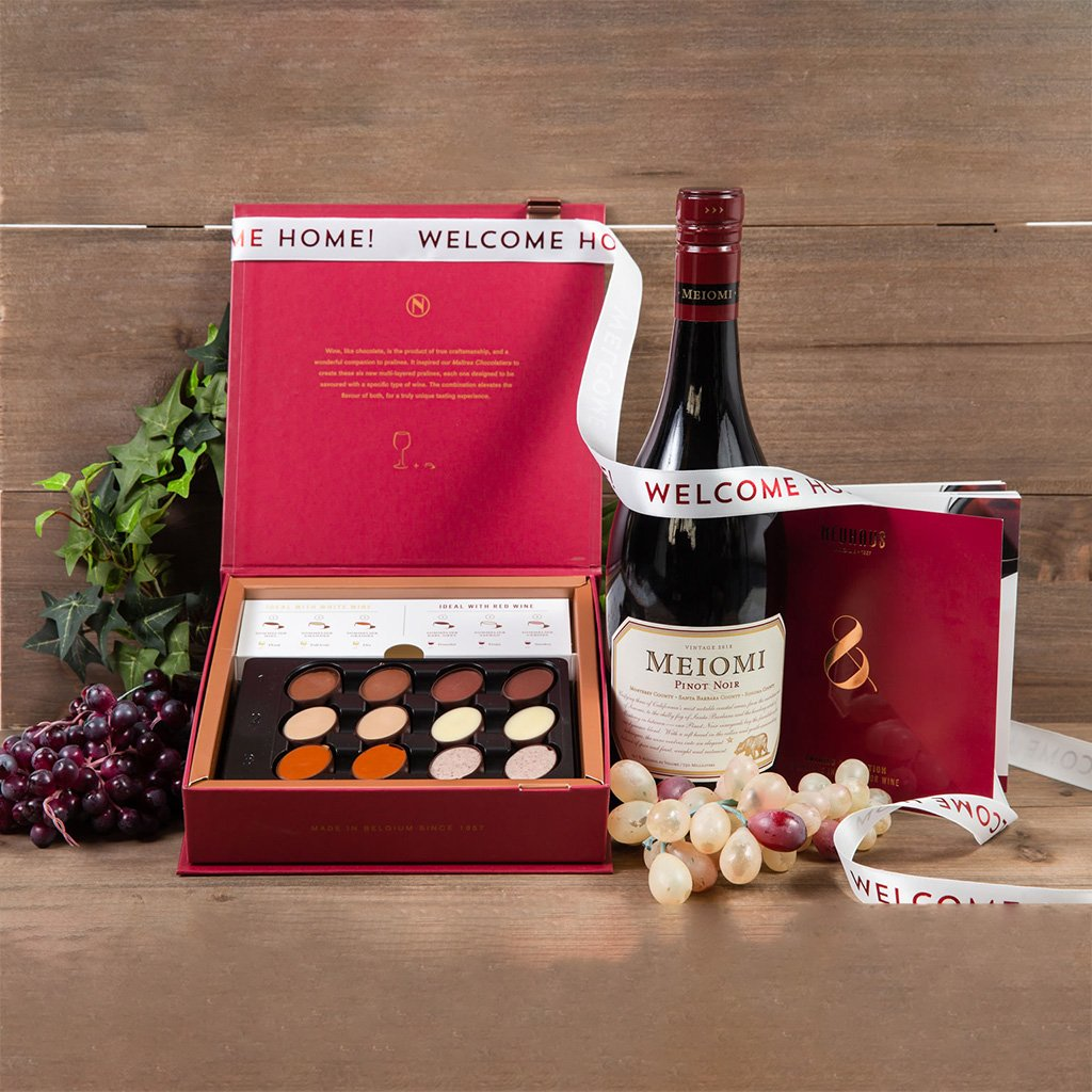 The Best Things in Life Welcome Home Red Wine Gift Set - GiftBasket.com - Gift Set