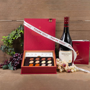 The Best Things in Life Thank You Wine Gift Set