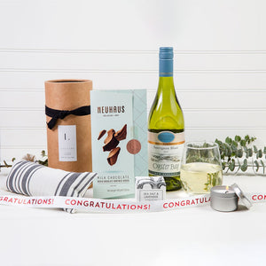 Lavender Dreams Congratulations Wine Gift Set