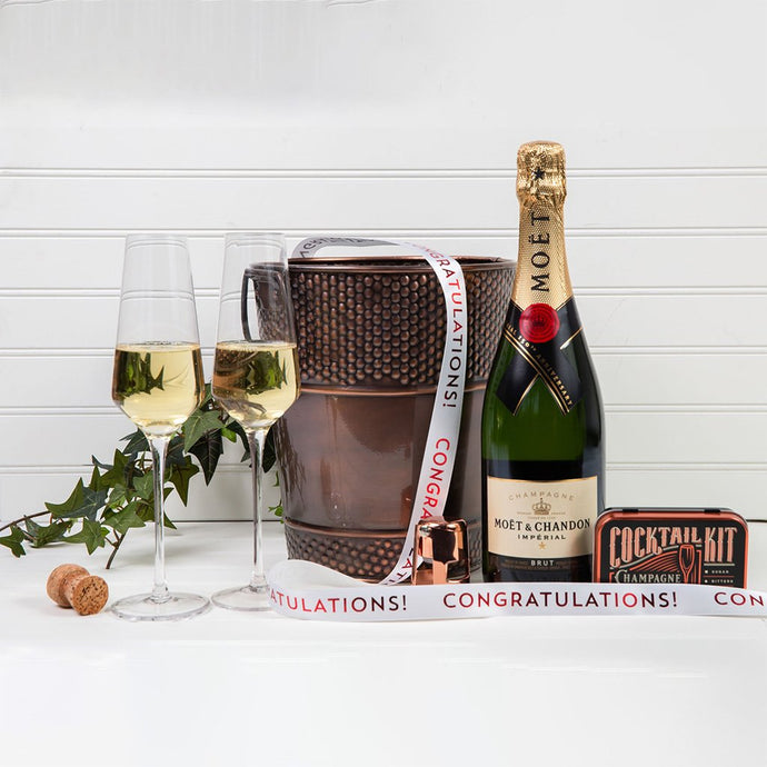 Let's Celebrate with Champagne - Congratulations! - GiftBasket.com - Gift Set