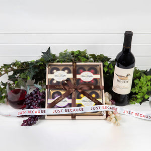Wine Truffle Just Because Gift Set