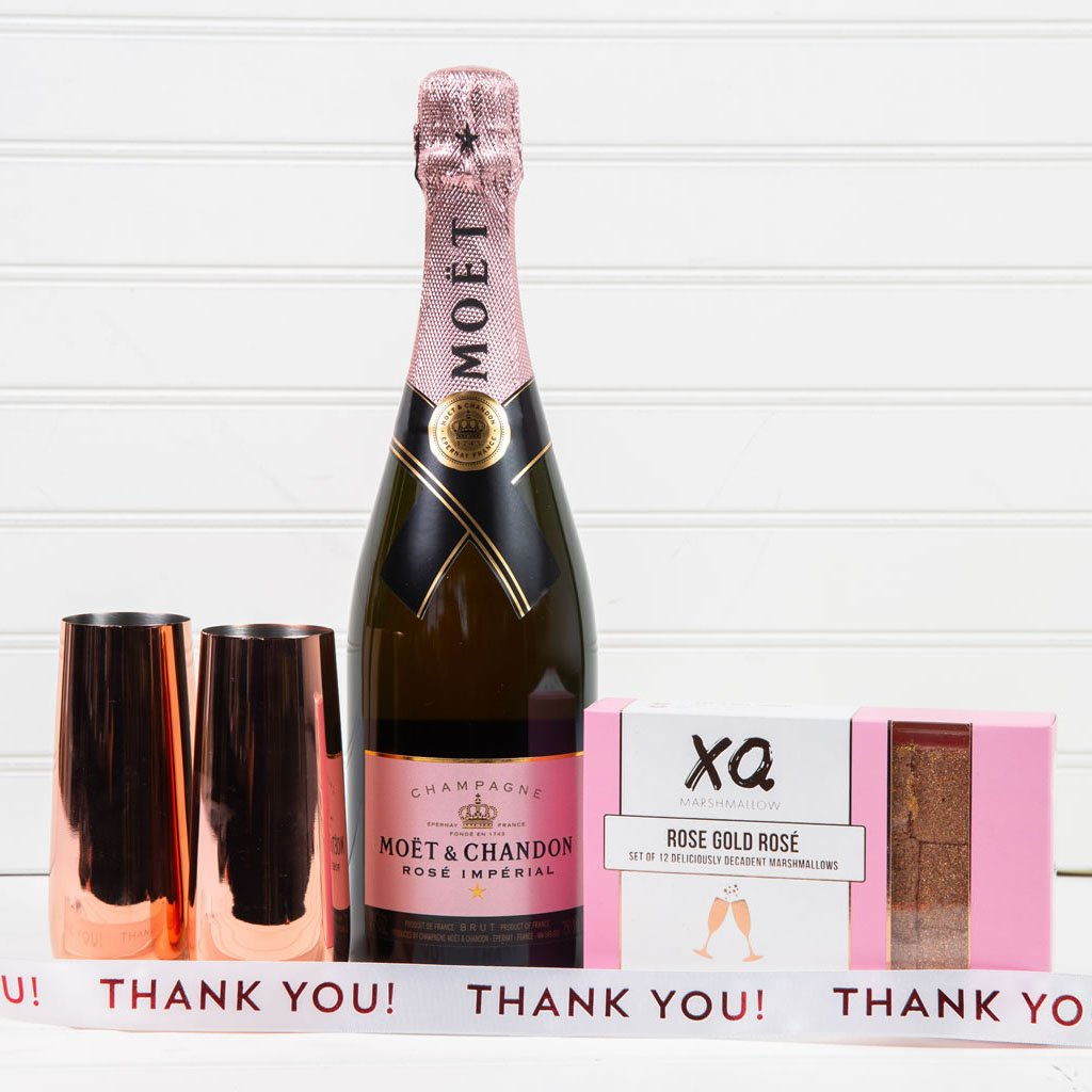 Let's Get Fizzical Thank You Champagne Gift Set (Version 2)