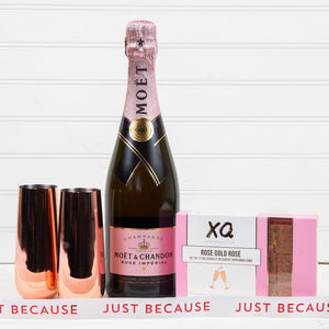 Let's Get Fizzical Just Because Champagne Gift Set (Version 2)