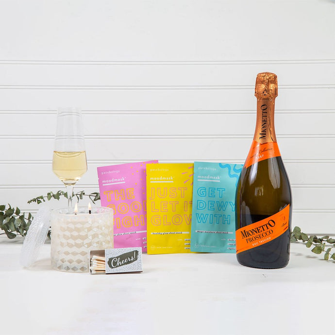 Mask & Relax Prosecco Gift Set