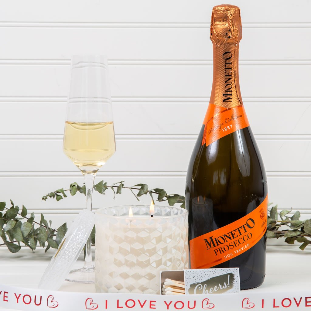 Prosecco On My Mind I Love You Gift Set - GiftBasket.com - Gift Set