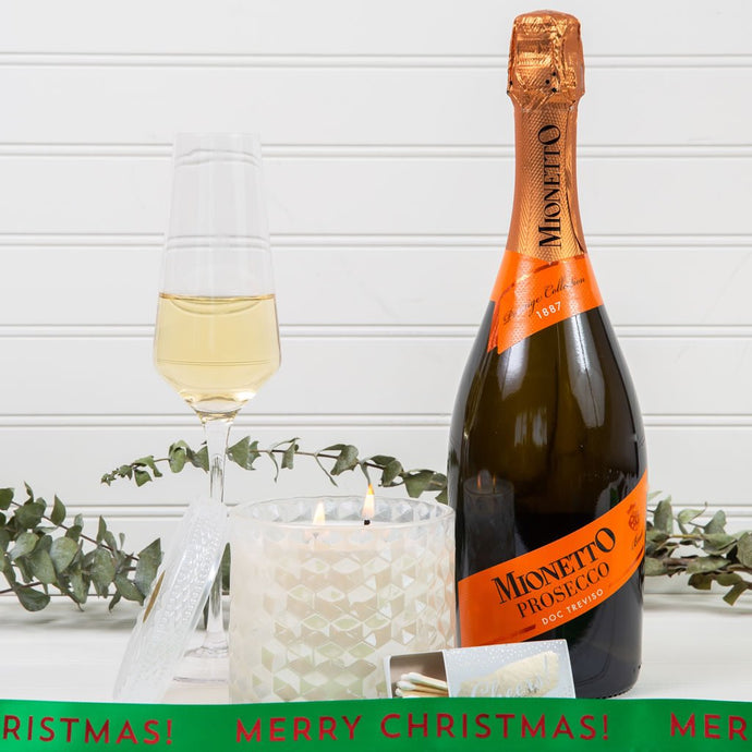 Prosecco On My Mind Merry Christmas Gift Set - GiftBasket.com - Gift Set