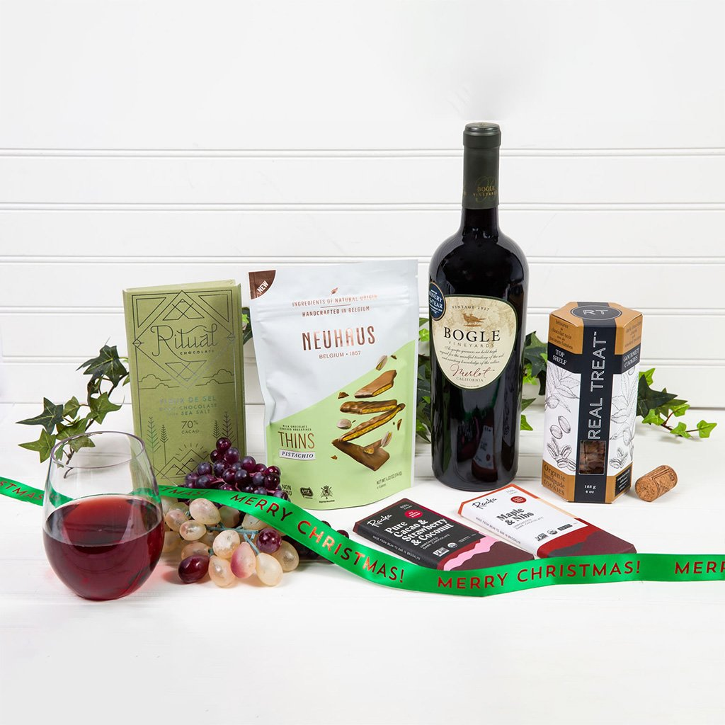 Wine & Chocolate Decadence - Merry Christmas!