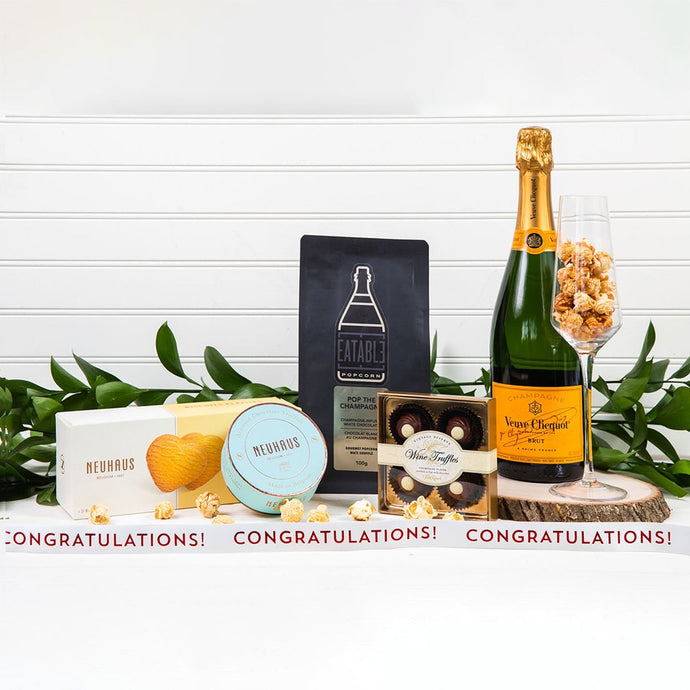 Pop The Champagne - Congratulations! - GiftBasket.com - Gift Set