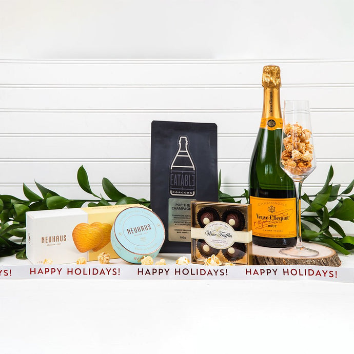 Pop The Champagne - Happy Holidays!