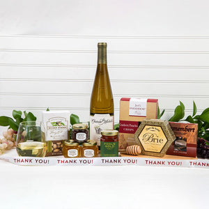 Honey Pass the Cheese Thank You Wine Gift Set