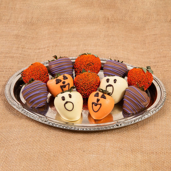 Halloween Spooky Belgian Chocolate Covered Strawberries