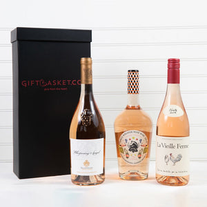 Gift of Rose Wine Set - GiftBasket.com - Wine Set