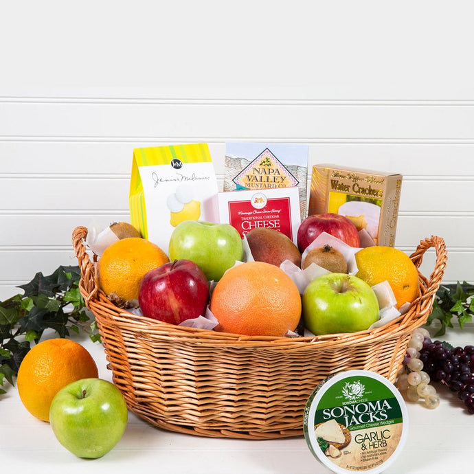Delicious Delights Gourmet Gift Basket