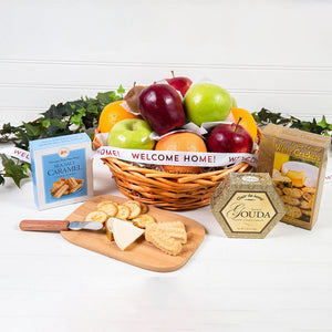 Connoisseur Fruit & Gourmet Welcome Home Basket