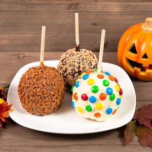 Fall Belgian Chocolate Covered Celebration Caramel Apples