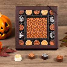 Load image into Gallery viewer, Jack O Lantern Assorted Truffle Halloween Gift Box - GiftBasket.com - Gift Box