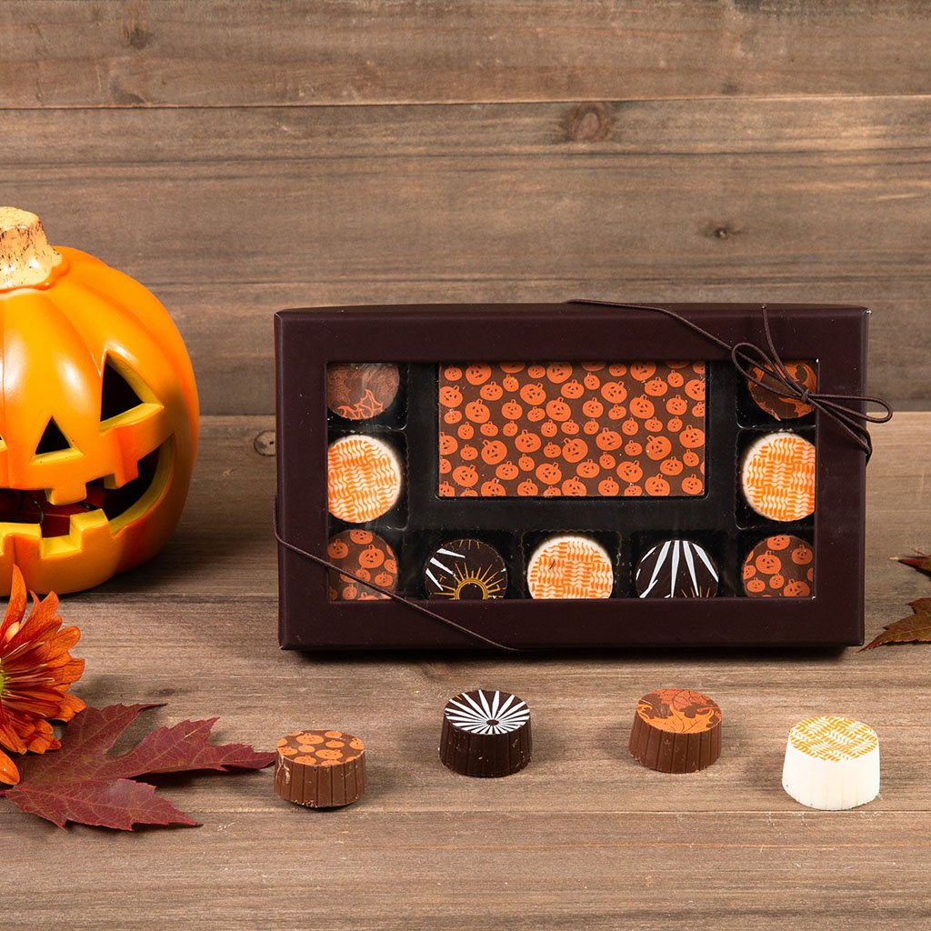 Jack O Lantern Assorted Truffle Halloween Gift Box
