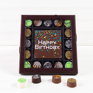 Birthday Confetti Assorted Truffle Gift Box