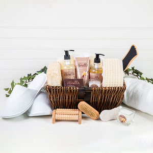 The Essentials Home Spa Basket