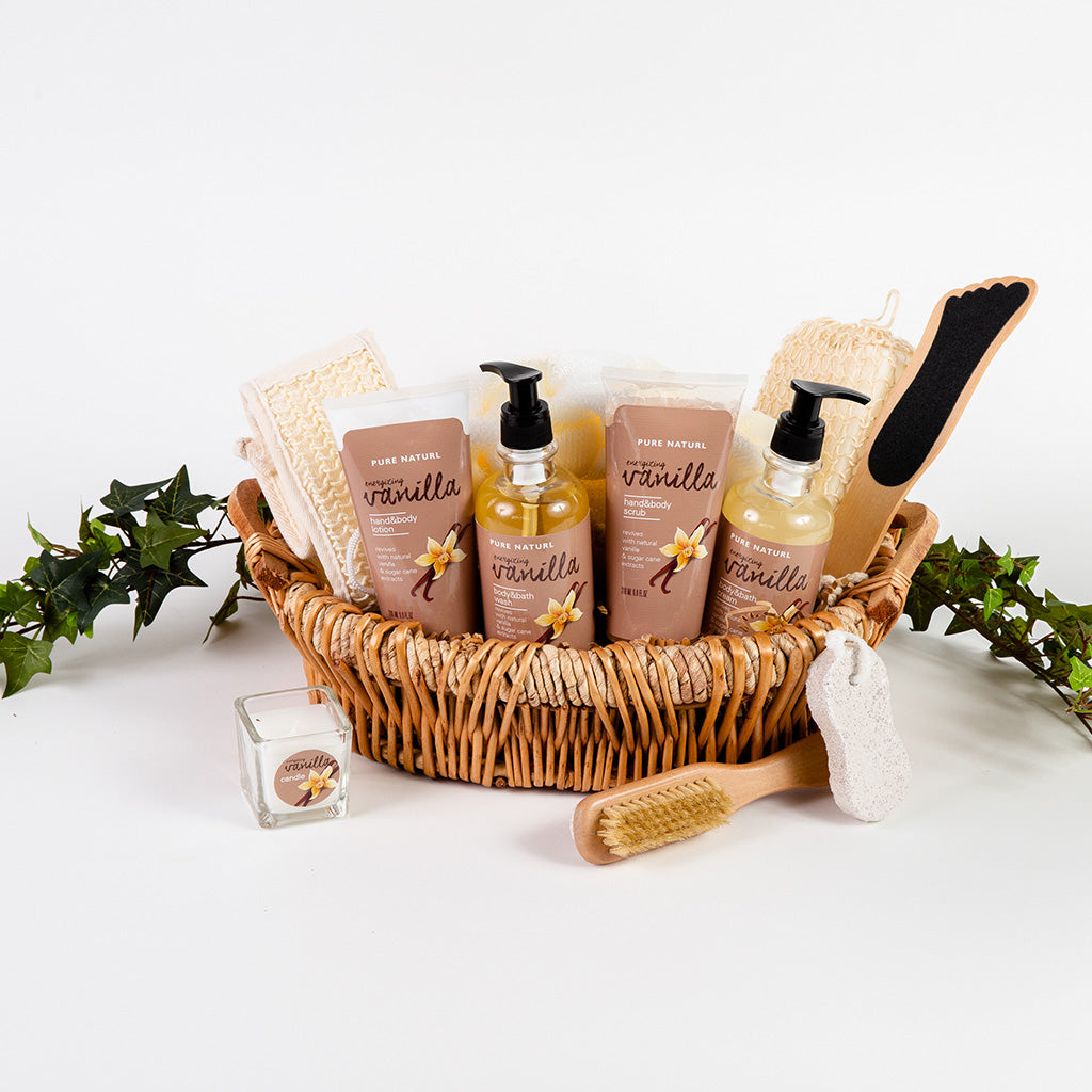 Stress Free Spa Treatment Gift Basket