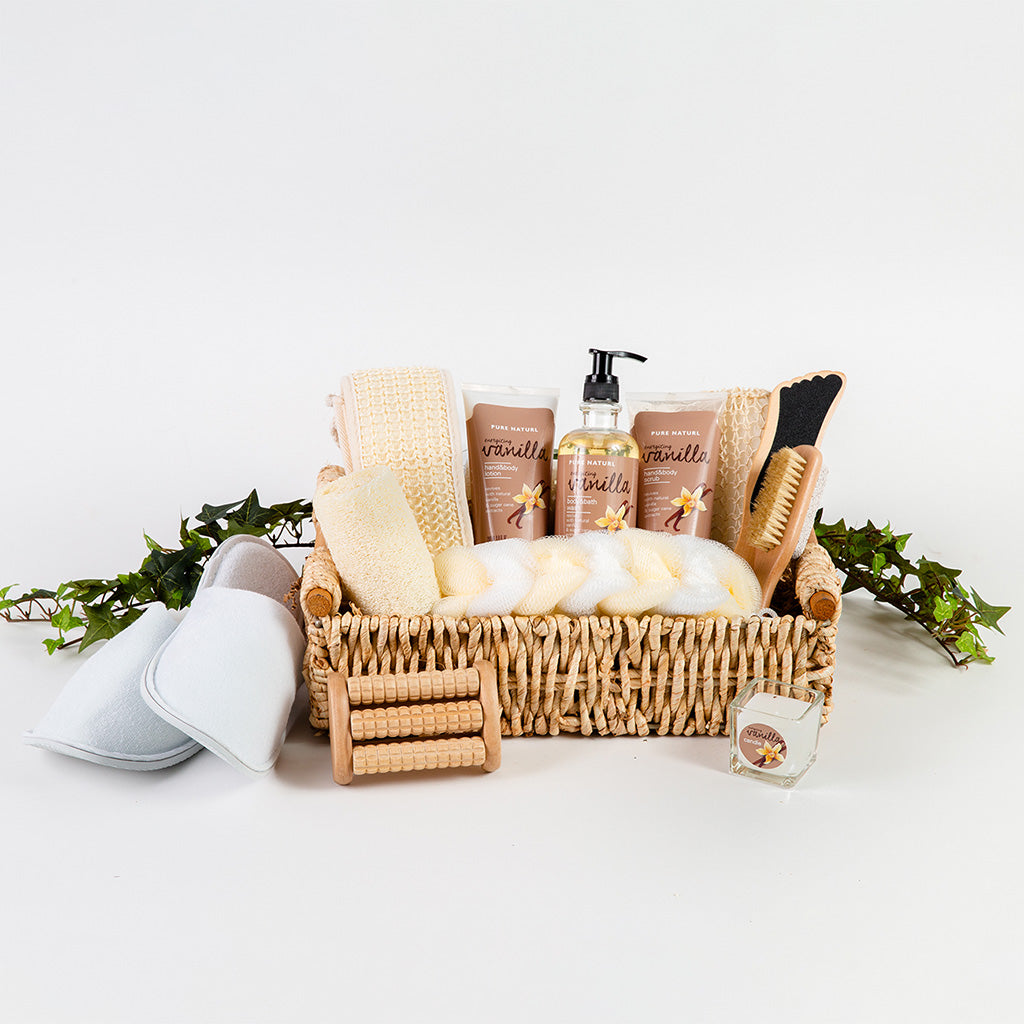 Calming Spa Gift Basket