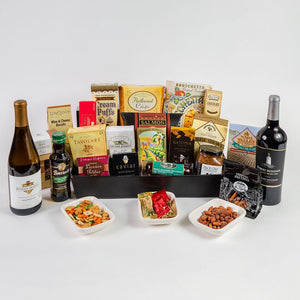 The Ultimate Entertaining Gourmet Wine Gift Basket - GiftBasket.com - Gift Basket