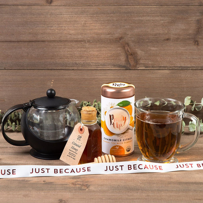 For My Sweet-tea Just Because Tea Gift Set - GiftBasket.com - Gift Set