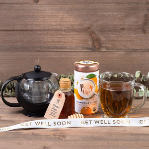 For My Sweet-tea Tea Get Well Gift Set